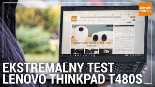 Super wytrzymały laptop! Ekstremalny test Lenovo ThinkPad T480s