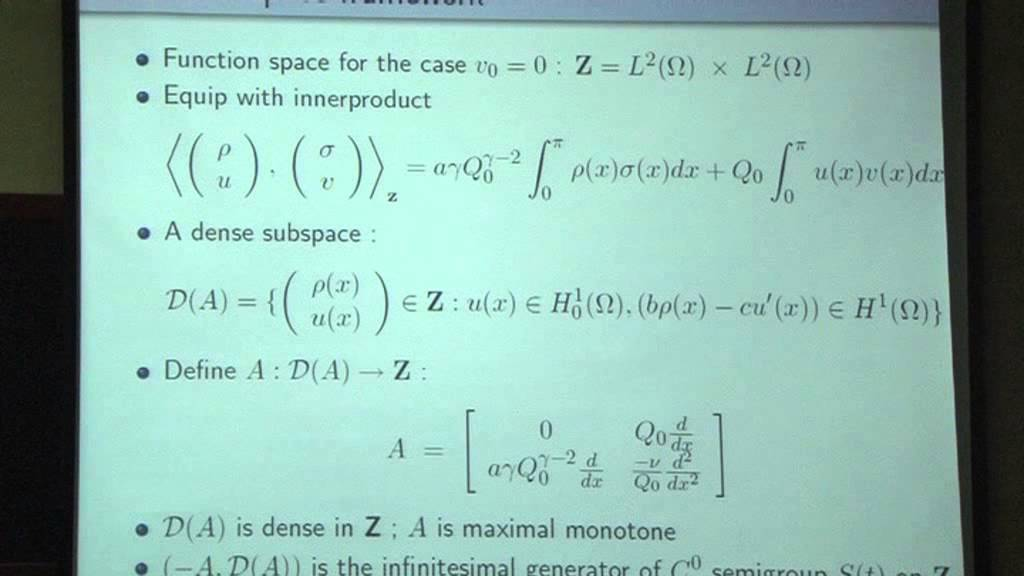 Mythily Ramaswamy - Control of Differential Equations - YouTube