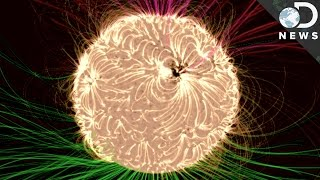 Visualizing The Sun's Magnetic Field