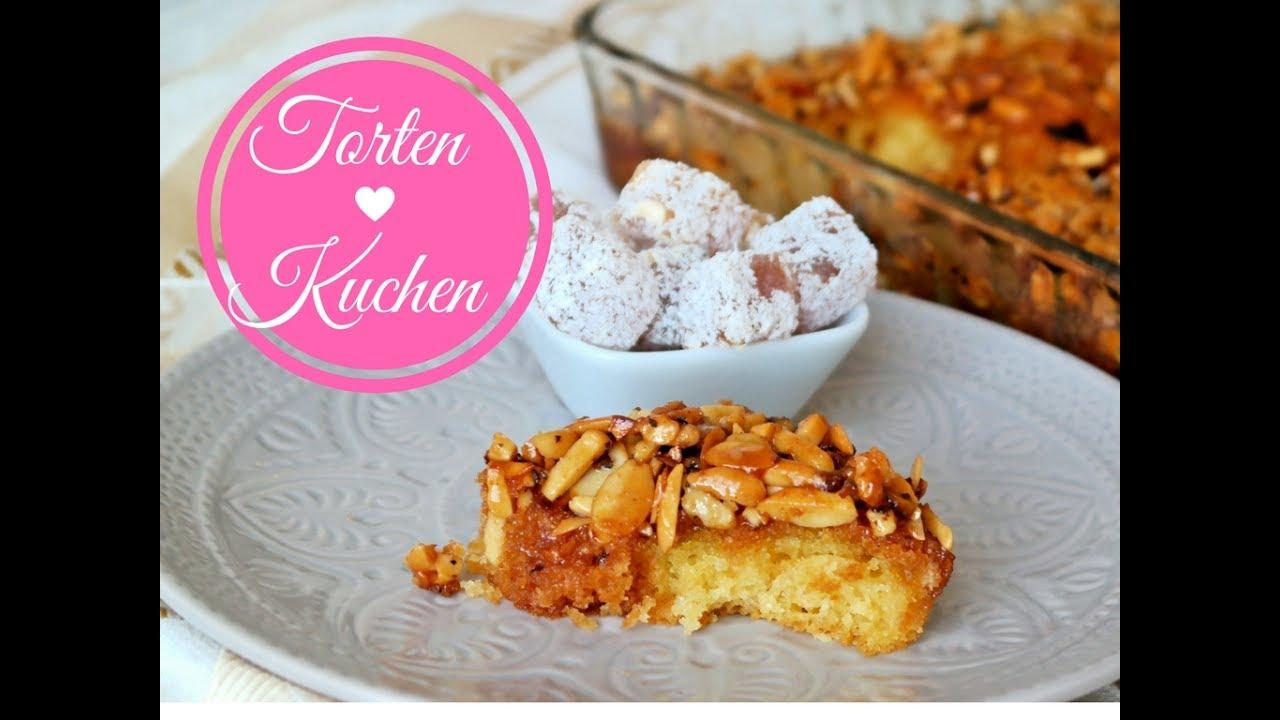 Arabischer Honig Mandel Kuchen I Saftiger Honigkuchen I Ramadan