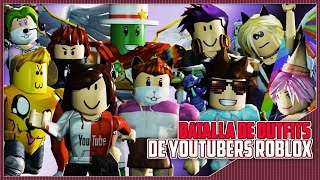 Battle of ROBLOX Youtubers Outifts MikeManucrack Manucraft Miann Lokazo86 Hey sant