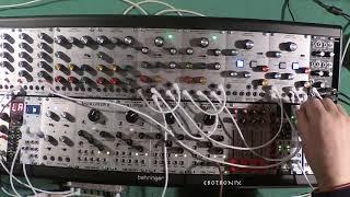 Behringer Arp 2500 Multimode Filter ~ Resonator Module 1047 as a VCO