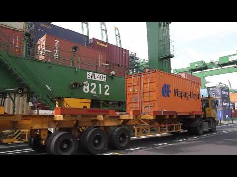 PSA Singapore - Through Our Eyes Part 5: Automated Rail Mounted Gantry Cranes