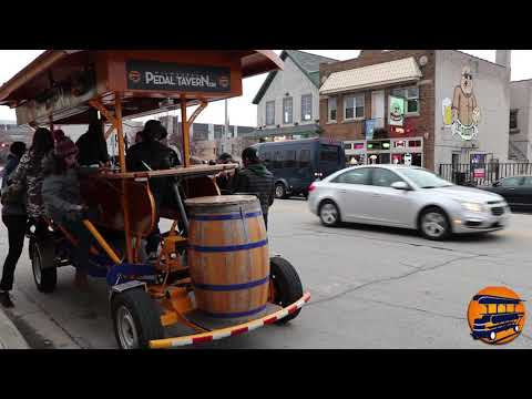 Quinn - Beers and a work out - Milwaukee Pedal Tavern did not disappoint!