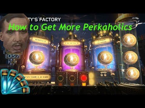 Black Ops 3 Zombies Chances of a Perkaholic for 3 Vat