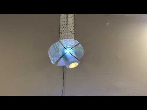 "Holographic 3D Display ""Holo Fan"" at MECSPE 2019 powered by CADENAS"