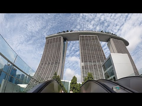 Worlds Most Expensive Casino | What To Do In Singapore | Marina Bay Sands Observation Platform