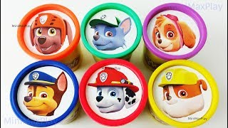 Learn Colors Play Doh Surprise Toys for Kids Paw Patrol Collection Nursery Rhymes Song