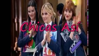 Soy Luna Chicas Así Letra Completa