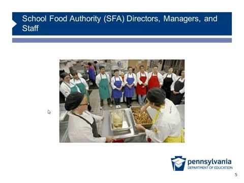 Pennsylvania Professional Standards for School Nutrition Personnel