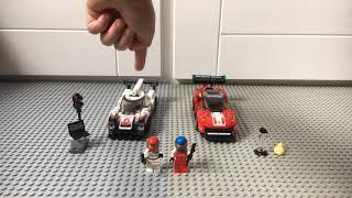 Lego Speed Champions Porsche 919 Hybrid & Ferrari 488 GT3 review! 🏎