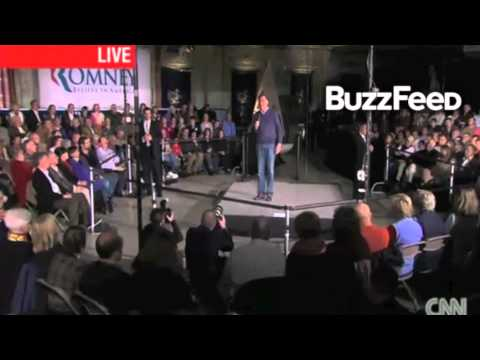 """Woman at a town hall Asks Romney: Is it patriotic to stash your money in the Cayman Islands"""""""
