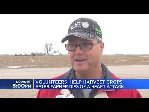 Scott Davidson - Good News: Volunteers Harvest Hundreds Of Acres After Farmer Suddenly Dies
