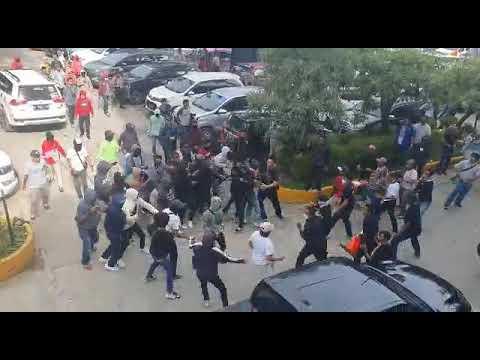 Video perkelahian dua kubu pendukung Calon Ketum PAN