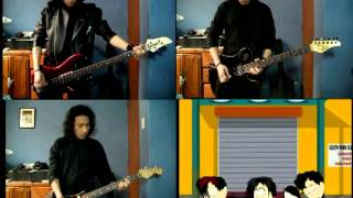 Repeat youtube video Goth Kids Song - South Park - Guitar and bass cover