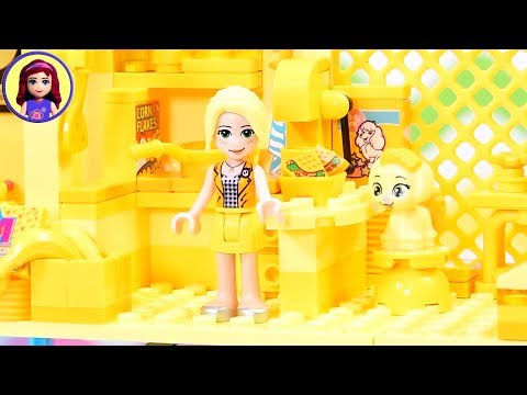 Too Bright! Too Much Yellow Build Challenge 🔆 Building With Only Yellow LEGO Bricks