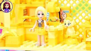 Trop lumineux! Trop de jaune construire défi   Immeuble avec seulement le jaune des briques de LEGO
