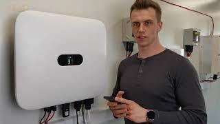 W nowym filmie instruktażowym Dawid pokaże Wam ja podłączyć licznik Huawei DTSU666 H do falownika oraz skonfigurować blokadę wypływu energii.
