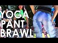 SEXY GIRLS FIGHTING IN YOGA PANTS - YOGA PANT BRAWL