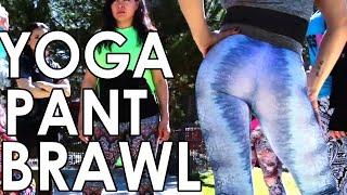 SEXY GIRLS FIGHTING IN YOGA PANTS - YOGA PANT BRAWL