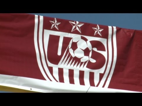 Biracial German-Americans play U.S. soccer