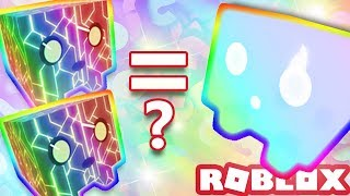 HOW MANY RAINBOW CORE SHOCKS EQUALS RAINBOW WILLOW WISP GREEN? | Roblox Pet Simulator