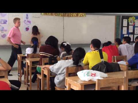 Teaching English in Thailand #2 - Day in the Life - Standard Lesson - Typical Day - Feb '15