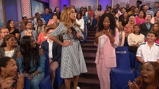 Wendy Williams - Broadcasting 101 - Don't touch Wendy's mic!