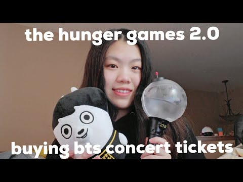 Buying Bts Concert Tickets Vlog Youtube