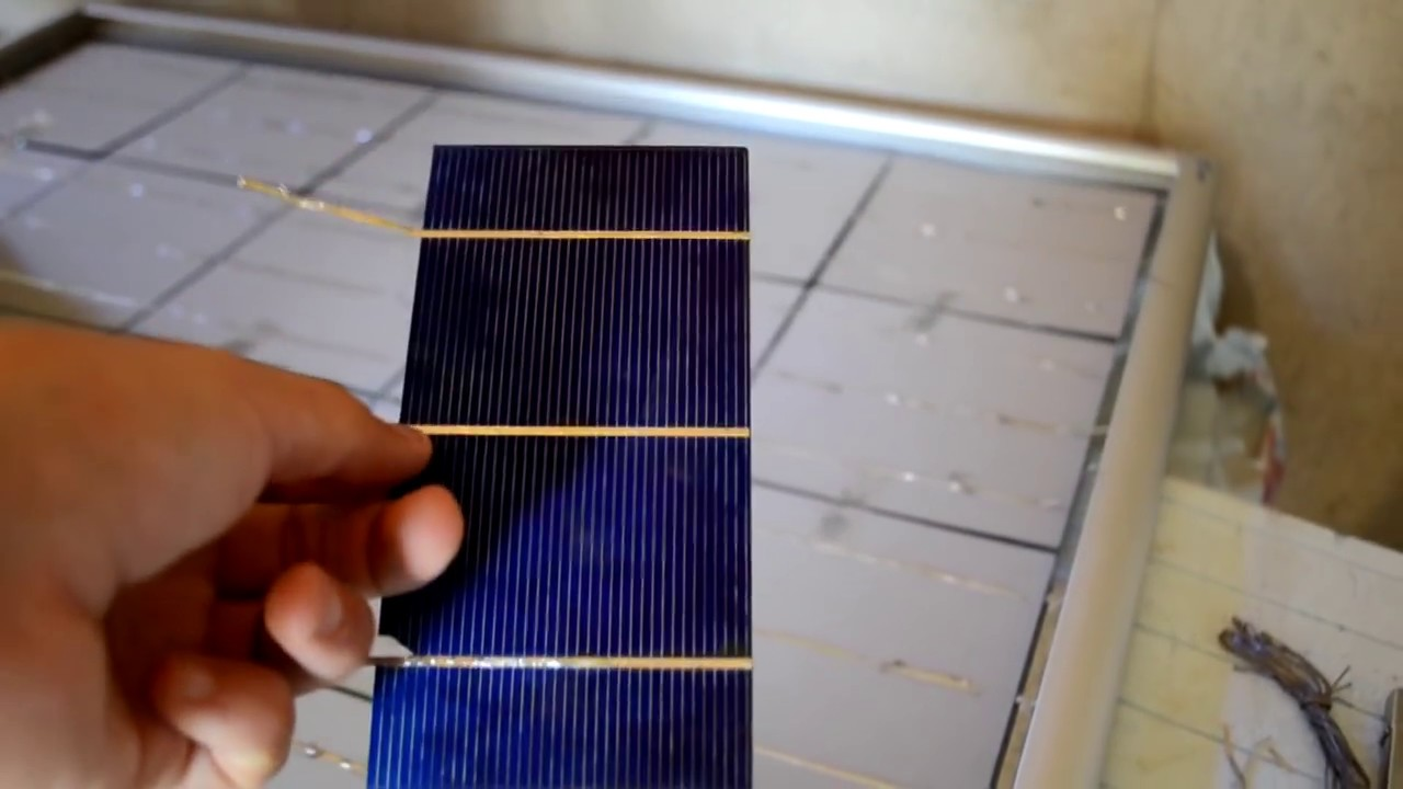 How To Make Solar Panel At Home Youtube Tree Energy