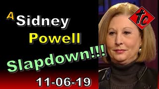 Truthification Chronicles A Sidney Powell Slapdown