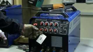 Сварка алюминия в аргоне аппаратом AuroraPRO INTER TIG 200 AC DC PULSE