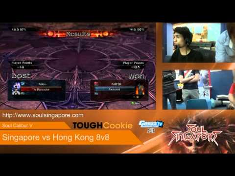 Soul Calibur V - Singapore vs Hong Kong 8v8 Online Exhibition Match