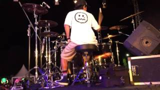 Video TROJAN - reality in chaos (GUZ CILIX drum cam) live at malu dong fest 2017 download MP3, 3GP, MP4, WEBM, AVI, FLV Agustus 2018
