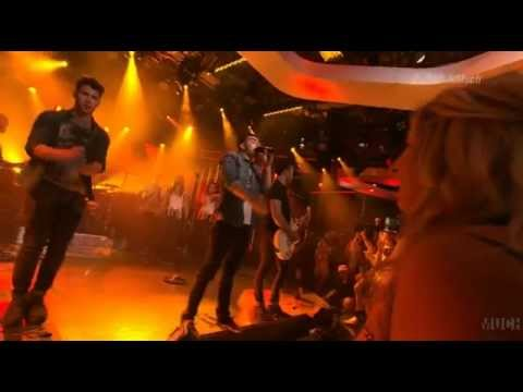 Burnin' Up - Jonas Brothers at Much Music Live