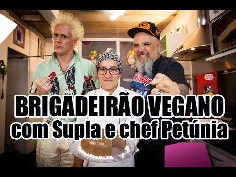 Brigadeirão vegano com Supla e chef Petúnia| Panelaço do João Gordo