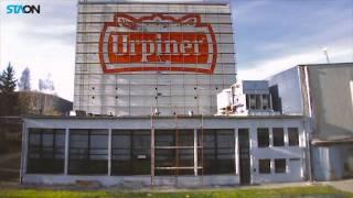 Das Grösste gemalte logo in der Slovakei - Brauerei Urpiner Banska Bystrica