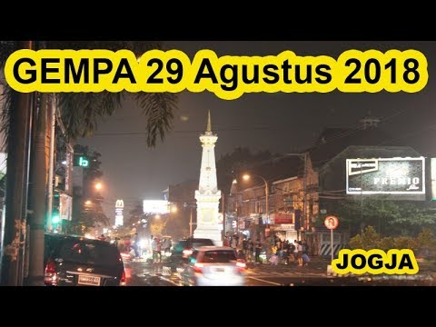 (FULL) GEMPA 29 Agustus 2018 Yogyakarta