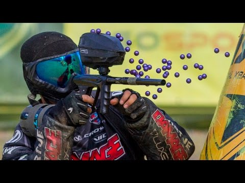 Full NXL Pro Paintball Match: Infamous vs Damage and Aftershock vs Outlaws