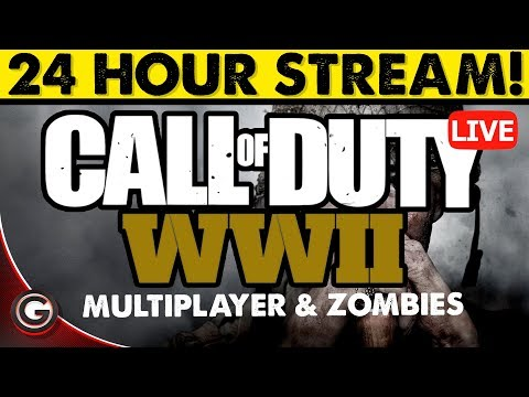 COD WW2 24 Hour Multiplayer Call of Duty Live Stream Gameplay XBOX ONE