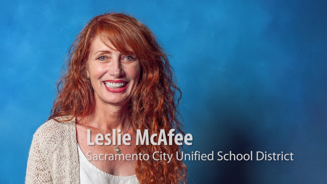 Leslie Mcafee Sacramento County Teachers Of The Year 2019 Interview
