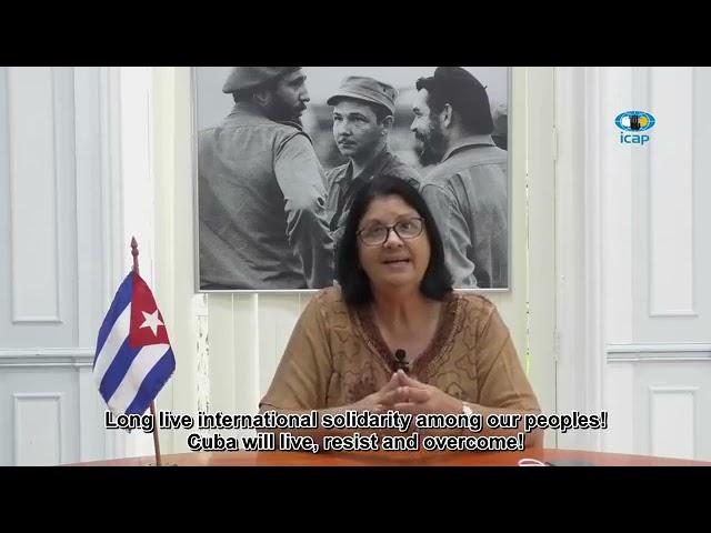 La Solidaridad con Cuba frente al bloqueo y la subversión política