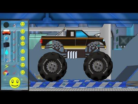 Monster Truck | Monster Truck Repair | Car Garage | Car Repair