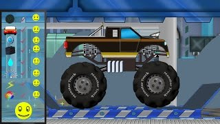 Monster Truck | Monster Truck Repair | Car Garage | Car Repair