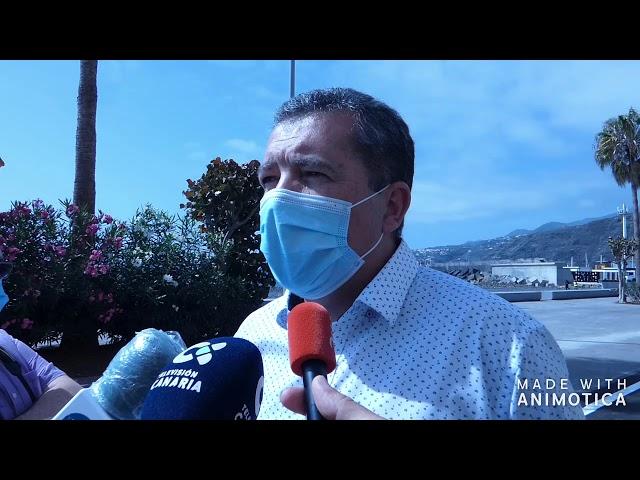 El Cabildo de La Palma entrega la Avenida Marítima al Ayuntamiento de Santa Cruz de La Palma