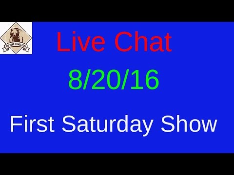 Our First Saturday live show!