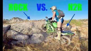 STREETBIKE VS. ROCKS CHALLENGE!!