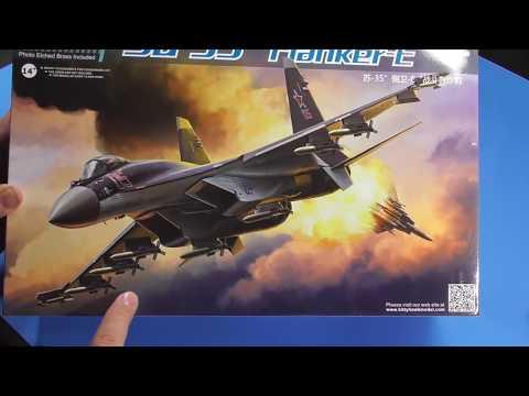 Sprue Review Kitty Hawk 1/48 SU 35