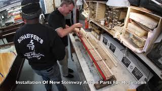"""Steinway """"O"""" Full Rebuild Time-Lapse"""