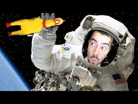 O FIM DO UNIVERSO... COM 1 GALINHA NO ESPAÇO!   Breathedge (Jogo Survival no Espaço)